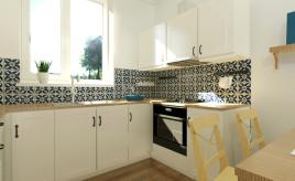 projekt kuchni rustykalnej