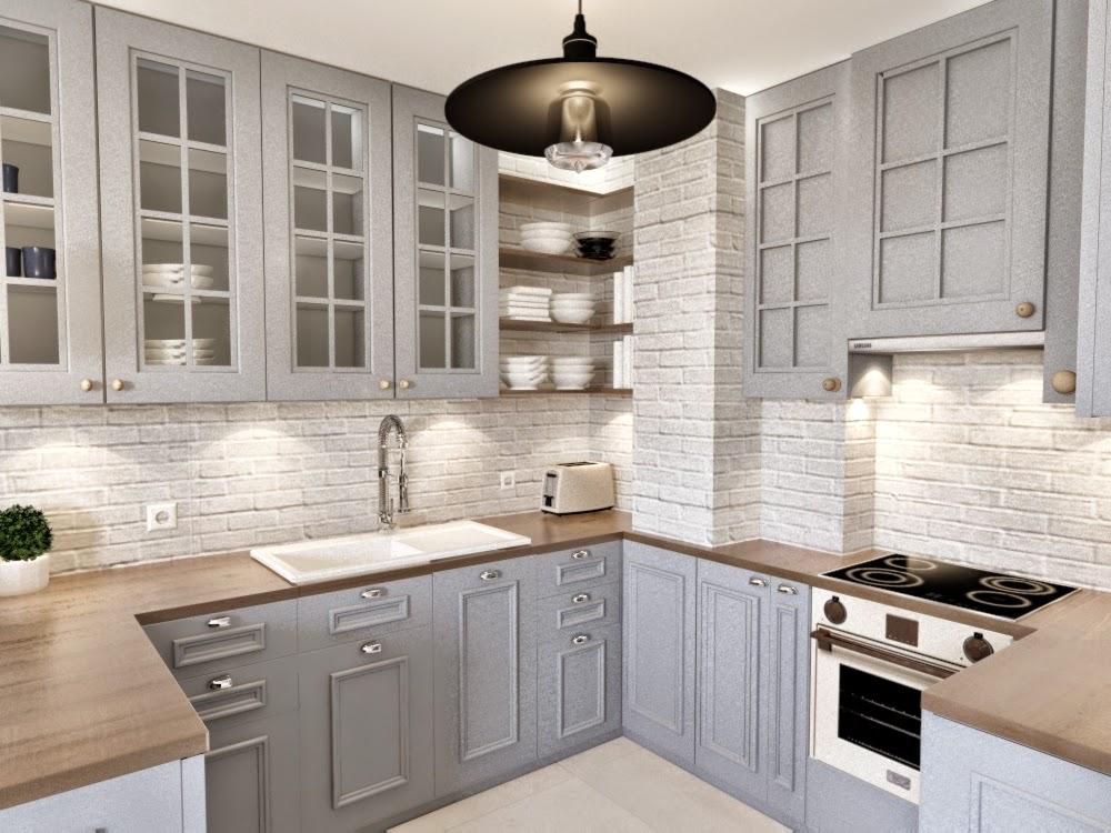 kuchnie aranżacja wnętrza najlepsze pomys�y na wystr243j