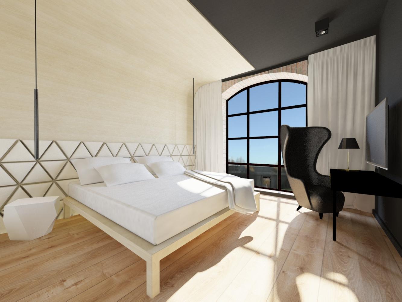 pokoje hotelowe projekt