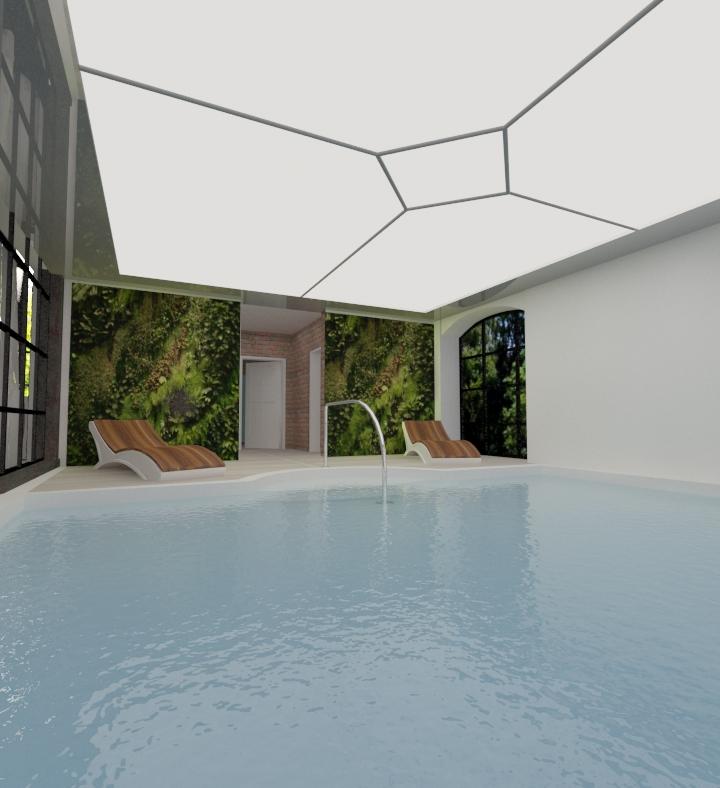 projekt basenu jankowskadesign