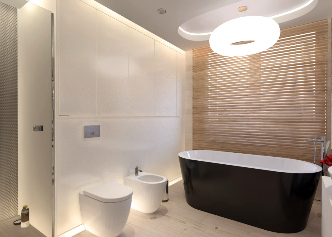 łazienka widok z boku